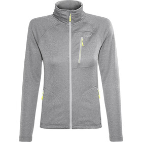 Meru Cannes Fleece Jacket Dame light grey